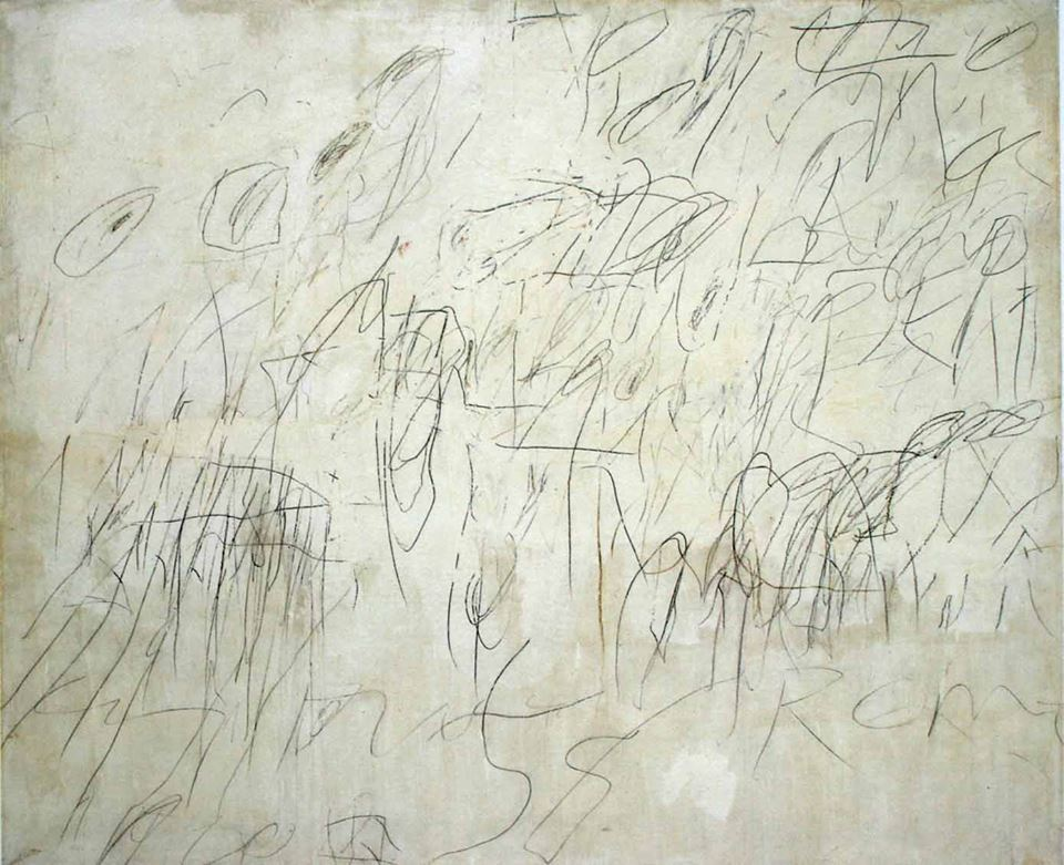 cy twombly painting